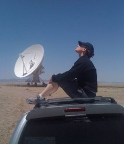 From my visit to the Very Large Array at the National Radio Astronomy Observatory (http://www.vla.nrao.edu/) last year. One of the most amazing places I've ever been.