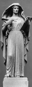 I think this Muse from the Field Museum is an appropriate symbolic image of Hypatia.