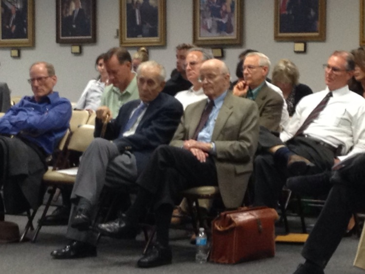 Some of the pro-Creationism/Intelligent Design individuals who came out to testify against the proposed science textbooks