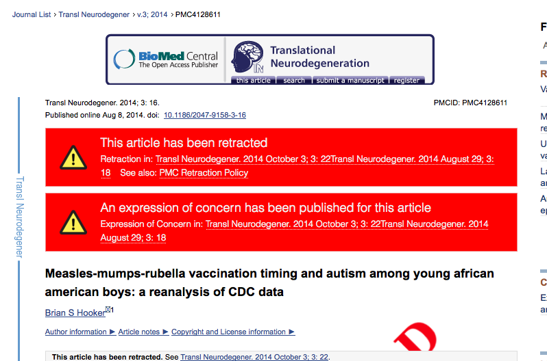 Retracted Measles Mumps Rubella >> Another Day Another Anti Vaccine Paper Retracted Violent Metaphors