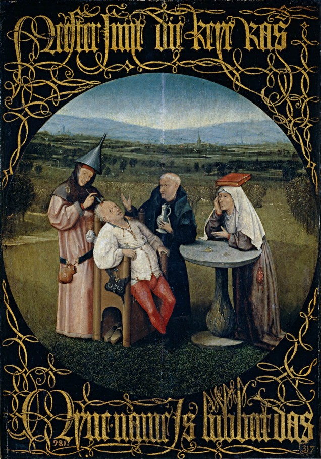"""""""Hieronymus Bosch 053"""" by Hieronymus Bosch (circa 1450–1516) - www.rijksmuseum.nl: Home: Info: Pic. Licensed under Public domain via Wikimedia Commons."""